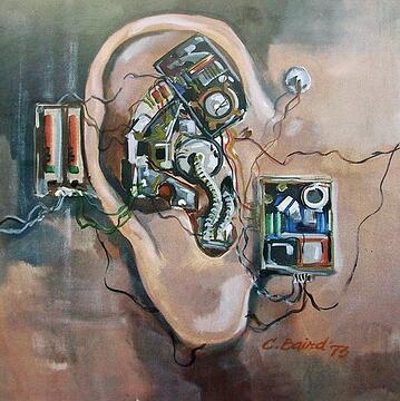 "Deaf Art Piece ""Mechanical Ear"""